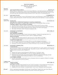 Resume Template Harvard Business School Best Of Harvard Business School Resume Format ResumeIdeasco