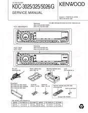 kenwood kdc 325 manuals kenwood kdc 325 service manual
