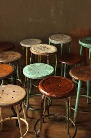 <b>Vintage stool</b>, Industrial <b>bar stools</b>, Metal <b>stool</b>