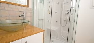 how to clean a fiberglass shower