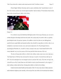 essay about the violence and sexual assault in the us military women 13 title essay about the violence and sexual