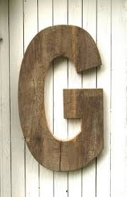 large rustic wall letters captivating wood pertaining to plans 14