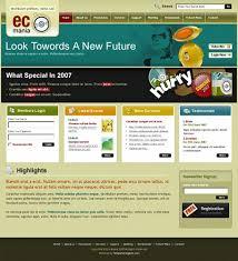 Css Website Templates Gorgeous 28 Free Elegant XHTMLCSS Website Templates Hongkiat