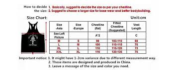 Tank Top Size Chart Men 2019 Men Gym Stringer Tank Top Bodybuilding Fitness Cotton Sleeveless T Shirt Vest Men Gym Tank Tops Sports Clothes From Shuangmianjing 7 43