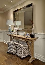 narrow entry table. Houzz.com The Perfect Console Table (of Course, Custom Made) Narrow Entry A