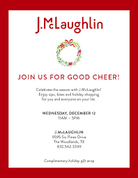 Holiday Shopping Party At J Mclaughlin Market Street The Woodlands