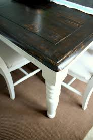 how to restain dining table dark refinishing tables do it yourself