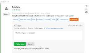 Reports Sales Reply Store Appfollow And Help - Connect To Center App Reviews Aso Integration