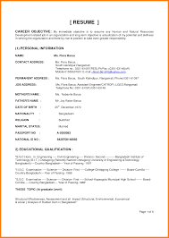 Technical Resume Objective Examples Hvac Resume Objective Examples Krida 72