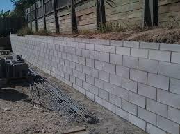 cinder block garden wall. Cinder Block Retaining Wall Garden L