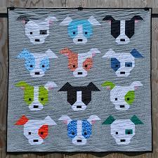Dog Gone Cute Quilt Pattern PDF Instant Download modern & Dog Gone Cute Quilt Pattern, PDF, Instant Download, modern patchwork, dog,  puppy, cute, mini and maxi quilt Adamdwight.com