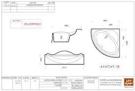 photo 6 of 8 corner bathtub dimensions tub images sizes india