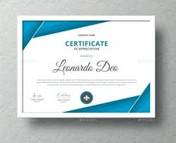 Templates For Certificates Word Templates For Certificates Certificate Of Recognition