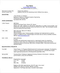 Modern Resume Contact Information 35 Resume Templates Pdf Doc Free Premium Templates