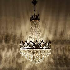 Mosque Eye Bronze Alte Kronleuchter