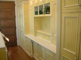 new distressed kitchen cabinets