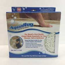 non slippery water resistance aqua rug for bathroom
