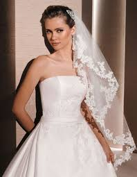 Long And Short Wedding Veils In Various Styles Lunss Couture