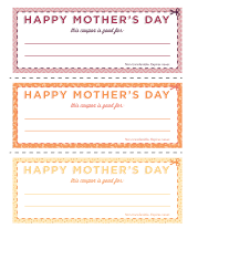 15 mother s day coupons your mom actually wants these coupons were made a specific mom in mind shout out to my mom love ya but since everyone s mom is different here s some blank
