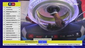 The semifinals and final of the fa cup are at wembley stadium, shown here before a recent semifinal between southampton and chelsea. Fa Cup Fourth Round Draw Youtube