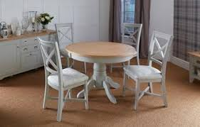 round dining room sets for 4. Harbour Round Extending Table \u0026 Set Of 4 Dining Chairs Room Sets For