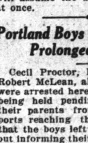 Frank's friend Cecil Proctor caught again. - Newspapers.com