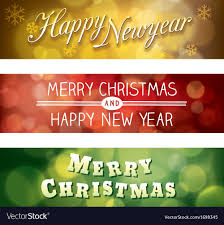 merry christmas and happy new year banner. Exellent Happy Inside Merry Christmas And Happy New Year Banner E
