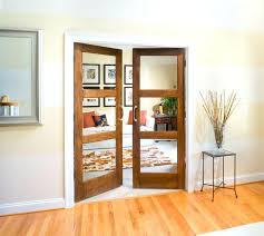 interior glass panelled doors interior door glass panel custom wood interior glass panel french doors