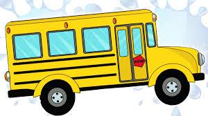 Autobus Scolaires Autos Lavage Cartoon Pour Enfants Enfants