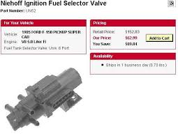 fuel tank selector valve page ford truck enthusiasts forums here is one