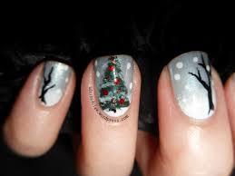 Christmas Nail Designs 2013 Christmas Tree Nail Art The Adorned Claw