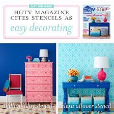 hgtv magazine 2014 furniture. Hgtv Magazine 2014 Furniture. Cites Stencils As Easy Decorating - Stencil Stories Furniture T