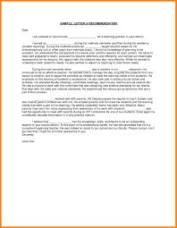 9 Teacher Recommendation Letter Letter Adress