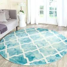 dip white round area rug black and target n