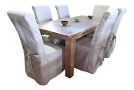 chair covers. 6 dining chair covers r