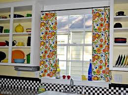Kitchen Drapery Colorful Kitchen Curtains Decor Rodanluo