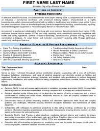 Process Technician Resume Sample & Template