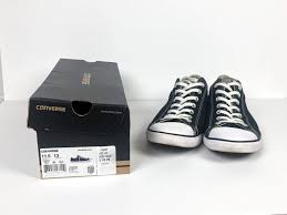 Details About Converse Chuck Taylor All Stars Shoes In Black Unisex Size 11 5 Men 13 Women New