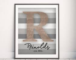 personalized family print family name wall art living room decor family name gift anniversary gift rustic family sign family sign on personalised family name wall art with name wall art etsy
