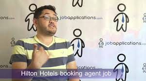 hilton hotels interview booking agent