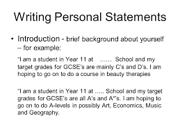 Music Personal Statement Help With A Writing Personal Statement With Thanks To Abbey