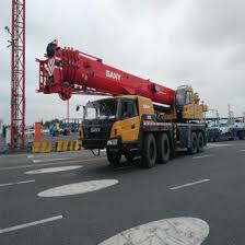 Sany 75 Ton Crane Load Chart Sany 75 Ton Truck Crane Stc750 Mobile Crane With 5 Section Booms