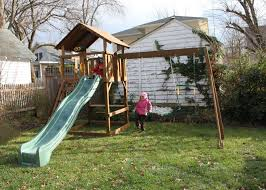 diy sandbox fort customizing a backyard playset