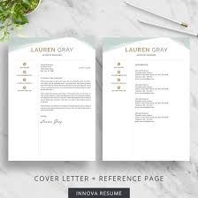 Creative Cover Letter Template Creative Resume Template