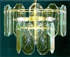 glass panel chandelier beveled panels replacement parts chan