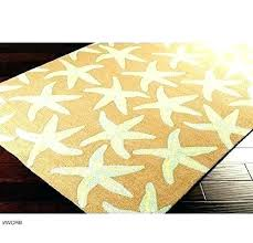 synthetic outdoor rugs starfish area rug