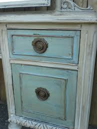 Paint Wash On Wood Antique Vanity In Color Paris Grey Wash Over Color Provence