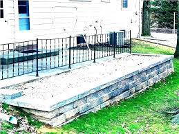 brick retaining wall building a on slope build garden wood slo