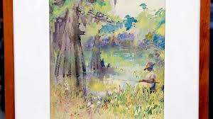 early 20th century alice ravenel huger smith watercolor antiques roadshow pbs