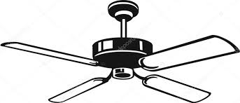 ceiling fan ilration vector by alliedcomputergraphics
